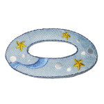Iron On Patch Applique - Inflatable Ring