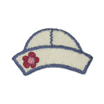 Iron On Patch Applique - Kids Sailor Hat