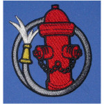 Iron On Patch Applique - Fire Hydrant