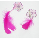 Flower and Feather Badge