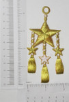 Iron On Patch Applique - Nautical Star with Tassels