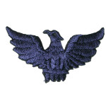 Iron On Patch Applique - Eagle Navy- 6 Pack