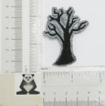 Iron On Patch Applique - Halloween Tree
