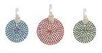 Rhinestud Applique - Christmas Tree Ornaments