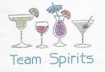 Rhinestone Applique - Team Spirits