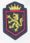 Iron On Patch Applique - Crest with Lion