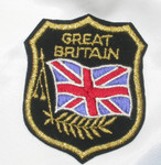 Iron On Patch Applique - GREAT BRITAIN Flag Crest
