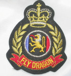 Iron On Patch Applique - Fly Dragon Crest