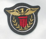 Iron On Patch Applique - Crest with Bird