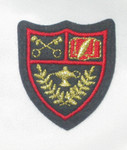 Iron On Patch Applique - Crest with Cross Keys