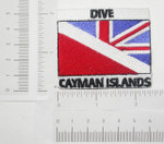 Iron On Patch Applique - Dive CAYMAN ISLANDS UK