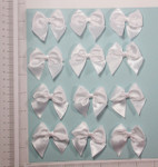 "Satin Ribbon Bow 2"" x 2"" approx  12 Pack"