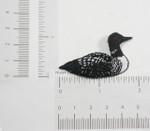 Iron On Patch Applique - Loon Bird
