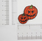 Iron On Patch Applique - Pumpkin Pair