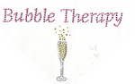"Rhinestud Applique - Champagne ""Bubble Therapy"""