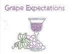 """Rhinestud Applique - """"Grape Expectations"""""""