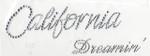 Rhinestud Applique - California Dreamin'
