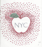Rhinestud Applique - New York City NYC Apple