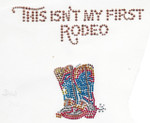 Rhinestud Applique - This Isn't My First Rodeo