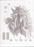 Rhinestud Applique - Horse Head & Mane