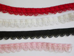 "Fancy Stretch Lace 1/2"" (12.7mm) *Colors* 5 Yards"