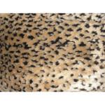 """Faux Fur Trim Strip 6"""" Leopard"""
