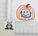 Iron On Patch Applique - Halloween Pumpkin