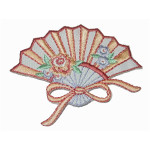 Iron On Patch Applique - Fan