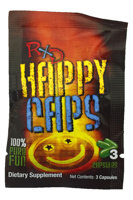 RxD Happy Caps Pack (3 capsules)