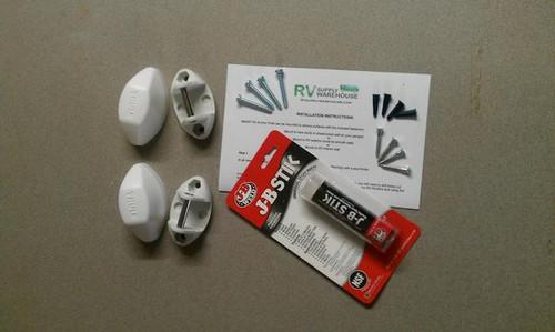 Smart Rv Multiple Use Anchor Pods White Rv Kit