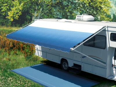 12' Pioneer manual crank-out Awning, Complete