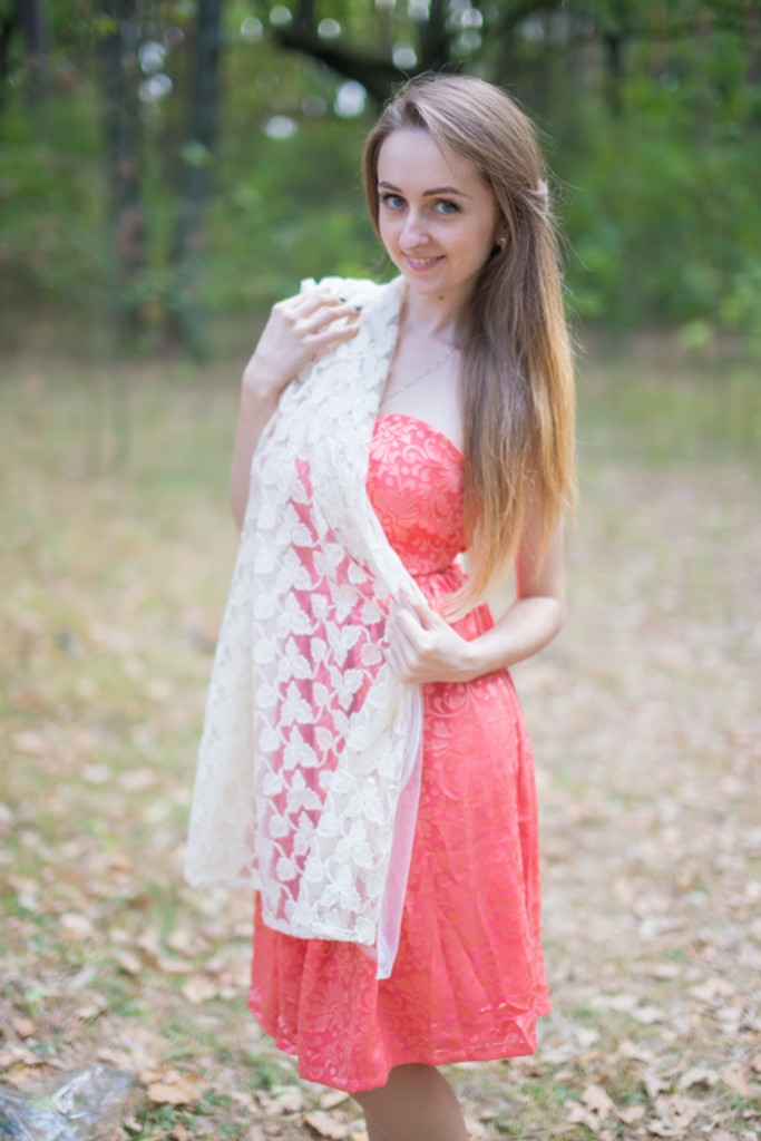 Lace Wedding Scarves and Shawls