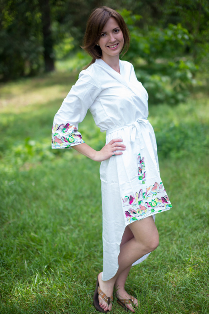 Little Chirpies High Low Bridesmaids Robes
