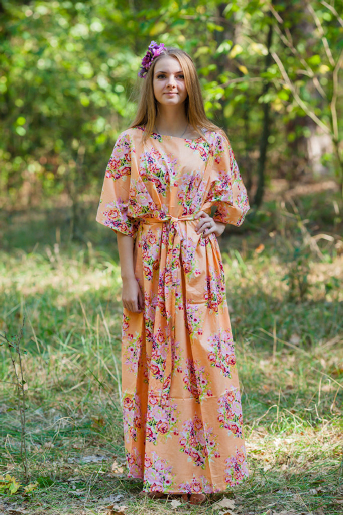 Mademoiselle Style Kaftans for bridesmaids to get ready in