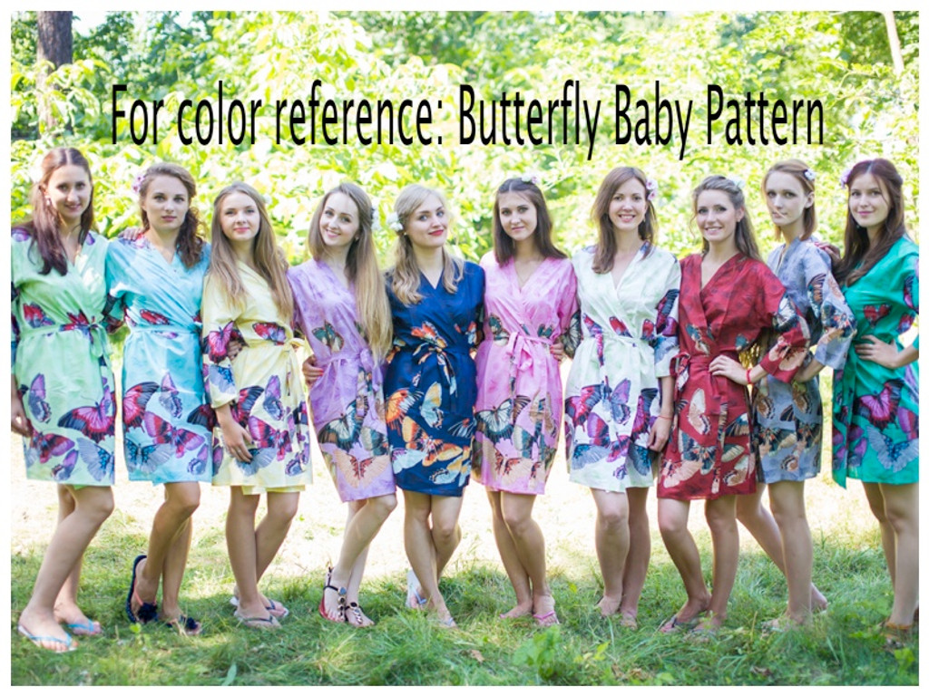 Butterfly Baby Full Length Maternity Robe