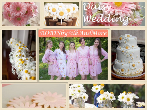 Daisy Themed Wedding