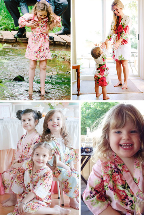 Flower Girl Robe