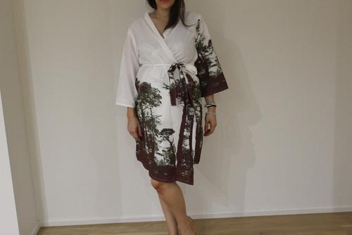Tree of Life Maternity Robe