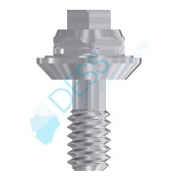 Straight Multi-Unit Abutment - 1mm Collar Height - 3.4 (NP) - 40.009/1 3i Osseotite® Compatible
