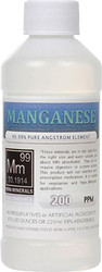Manganese comes in 8, 16 and 128 ounces.