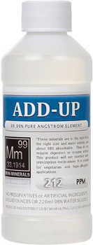 Add-Up comes in 8, 16 and 128 ounce sizes.