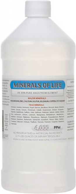 Minerals of Life comes in 16,32 or 64 ounce sizes.