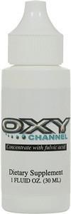 Oxy Channel in a one ounce bottle.