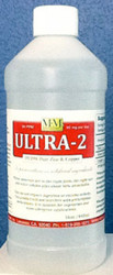 Ultra-2 comes in a 8, 16 or 128 oz sizes.