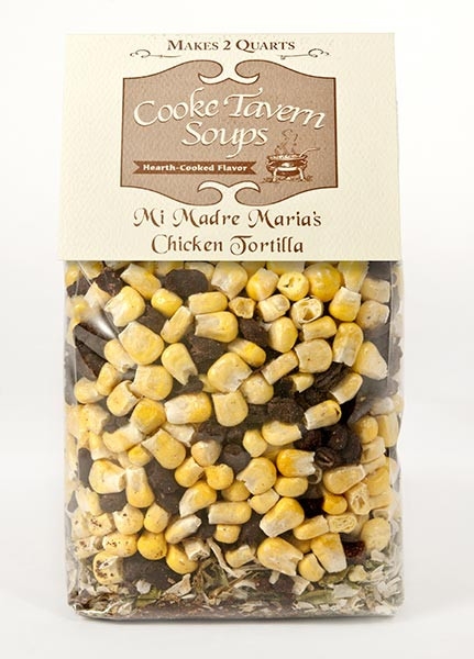 Makes 8 - 8 ounce servings of soup - without MSG, salt or preservatives. Also freezes well!
