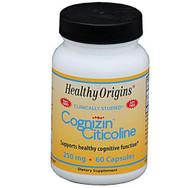 Healthy Origins Cognizin 250mg 60 veg caps