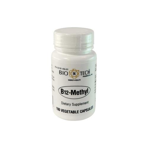 Vitamin B12 Methyl 1,000 mcg 100 capsules