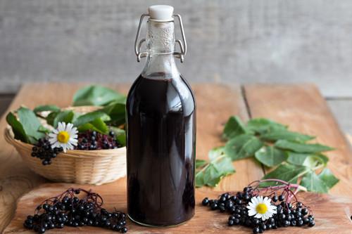 Organic DIY Elderberry Kit Yields approximately 48 oz