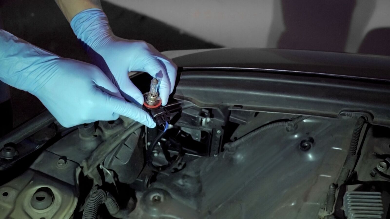 Fluxbeam Led Headlight H11 Bulb Installation Opt7 Hid Wiring Schematic Detach The Wires From