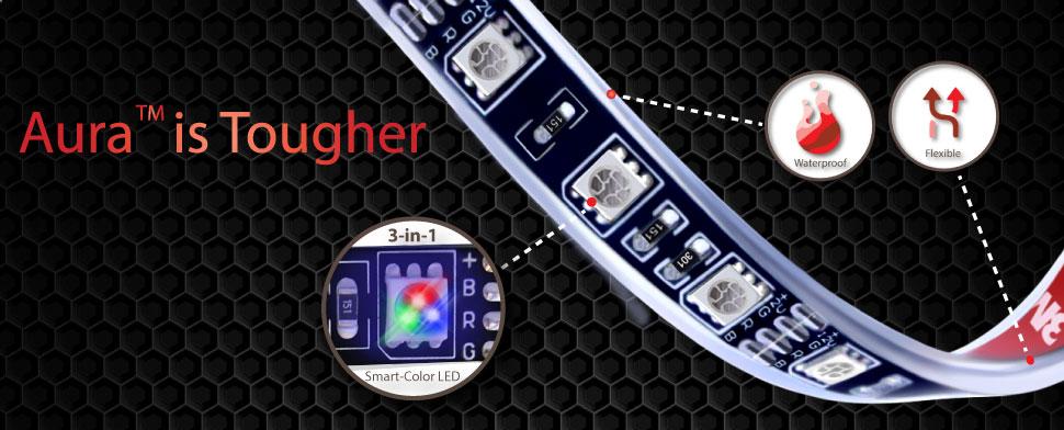 aura LED grille kit